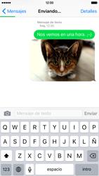 Envía fotos, videos y audio por mensaje de texto - Apple iPhone 6 - Passo 13