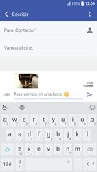 Envía fotos, videos y audio por mensaje de texto - HTC 10 - Passo 20