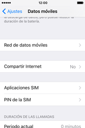 Configura el hotspot móvil - Apple iPhone 4s - Passo 4