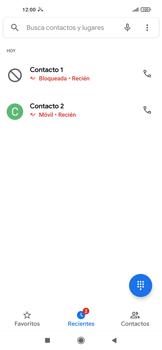 Cómo bloquear llamadas - Xiaomi Redmi Note 9T 5G - Passo 6