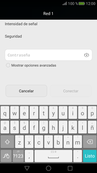 Configura el WiFi - Huawei Mate S - Passo 6