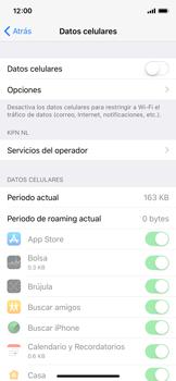 Desactiva tu conexión de datos - Apple iPhone X - Passo 4