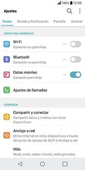 Configura el WiFi - LG Q6 - Passo 3