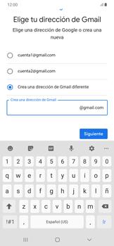 Crea una cuenta - Samsung Galaxy A50 - Passo 10