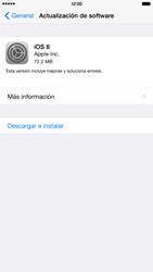 Actualiza el software del equipo - Apple iPhone 6 - Passo 6