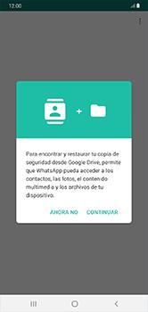Configuración de Whatsapp - Samsung Galaxy A10 - Passo 7