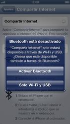 Configura el hotspot móvil - Apple iPhone 5 - Passo 7