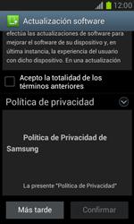 Actualiza el software del equipo - Samsung Galaxy Win - I8550 - Passo 9