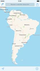 Uso de la navegación GPS - Apple iPhone 6 - Passo 3