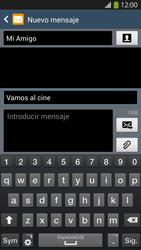 Envía fotos, videos y audio por mensaje de texto - Samsung Galaxy S4  GT - I9500 - Passo 11