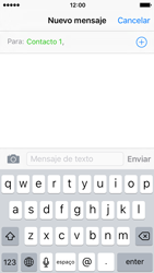Envía fotos, videos y audio por mensaje de texto - Apple iPhone SE - Passo 6