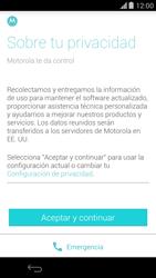 Activa el equipo - Motorola Moto X (2a Gen) - Passo 6