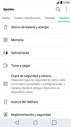 Limpieza de aplicación - LG X Cam - Passo 3