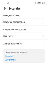 Cómo habilitar la función Bloqueo de aplicaciones - Huawei P40 Lite - Passo 4