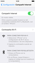 Configura el hotspot móvil - Apple iPhone 5c - Passo 9