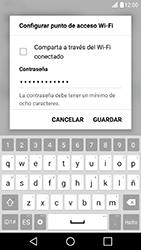 Configura el hotspot móvil - LG X Cam - Passo 7