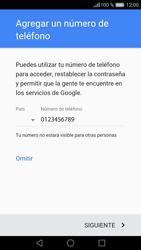 Crea una cuenta - Huawei P9 - Passo 12