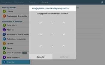 Desbloqueo del equipo por medio del patrón - Samsung Galaxy Note Pro - Passo 10