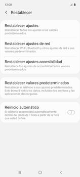 Restaura la configuración de fábrica - Samsung Galaxy A51 - Passo 6