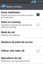 Configura el Internet - LG Optimus L5 II - Passo 8