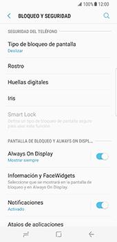 Desbloqueo del equipo por medio del patrón - Samsung Galaxy S8 - Passo 5