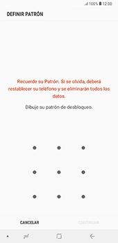 Desbloqueo del equipo por medio del patrón - Samsung A7 2018 - Passo 7