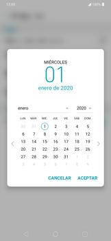 Cómo cambiar la fecha y hora - LG K40S - Passo 6