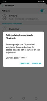 Conecta con otro dispositivo Bluetooth - LG G7 ThinQ - Passo 7
