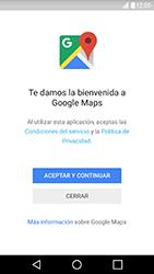 Uso de la navegación GPS - LG X Cam - Passo 4