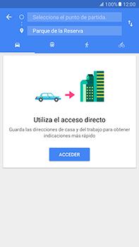 Uso de la navegación GPS - Samsung Galaxy A7 2017 - A720 - Passo 10