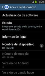 Actualiza el software del equipo - Samsung Galaxy Trend Plus S7580 - Passo 7