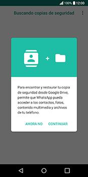 Configuración de Whatsapp - LG Q6 - Passo 11