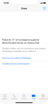 Configuración de Whatsapp - Apple iPhone 11 Pro - Passo 15