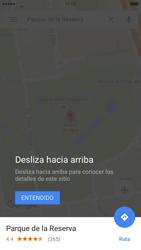 Uso de la navegación GPS - Apple iPhone 6s - Passo 11