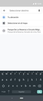 Uso de la navegación GPS - Motorola One Vision (Single SIM) - Passo 10