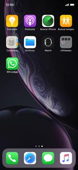 Usar WhatsApp - Apple iPhone XR - Passo 2