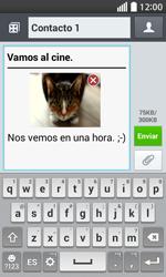 Envía fotos, videos y audio por mensaje de texto - LG L70 - Passo 18