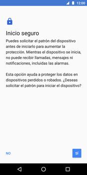 Desbloqueo del equipo por medio del patrón - Motorola Moto E5 - Passo 7