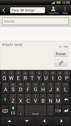 Envía fotos, videos y audio por mensaje de texto - HTC ONE X  Endeavor - Passo 9