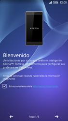 Activa el equipo - Sony Xperia Z2 D6503 - Passo 5