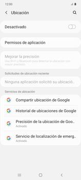 Cómo habilitar el GPS en tu teléfono - Samsung Galaxy S10 Lite - Passo 4