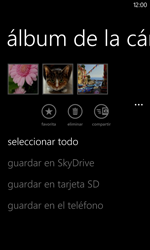 Transferir fotos vía Bluetooth - Nokia Lumia 820 - Passo 8