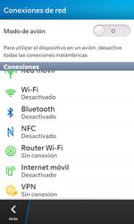 Configura el hotspot móvil - BlackBerry Z10 - Passo 4