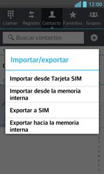 ¿Tu equipo puede copiar contactos a la SIM card? - LG Optimus L5 II - Passo 6