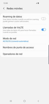 Configurar el equipo para navegar en modo de red LTE - Samsung S10+ - Passo 7