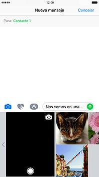 Envía fotos, videos y audio por mensaje de texto - Apple iPhone 7 Plus - Passo 9