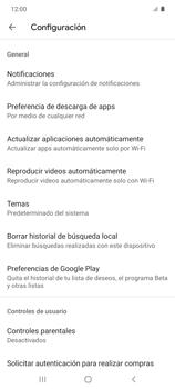 Cambiar configuración de actualizaciones de aplicaciones - Samsung Galaxy S10 Lite - Passo 8
