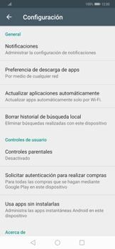 Cambiar configuración de actualizaciones de aplicaciones - Huawei Mate 20 Pro - Passo 6