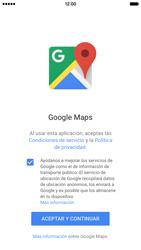 Uso de la navegación GPS - Apple iPhone 6s - Passo 4