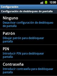 Desbloqueo del equipo por medio del patrón - Samsung Galaxy Y  GT - S5360 - Passo 6